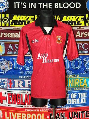 5/5 Tamworth adults XL 1990's mint football shirt jersey trikot soccer image