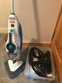 Vax Steam Cleaner with attachments