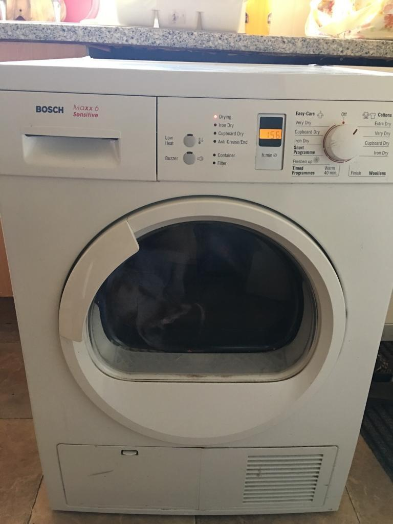 bosch maxx 6 sensitive condensed tumble dryer in. Black Bedroom Furniture Sets. Home Design Ideas