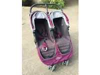 Twin Stroller- City Mini 'Baby Jogger'