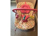Mothercare girls baby bouncer