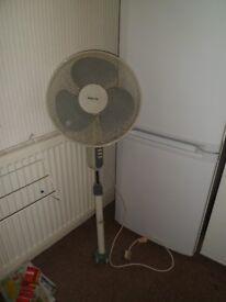 Satin-Air Oscillating Fan.No Stand/Legs