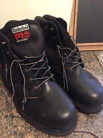 Timberland Pro series steel toe cap boots