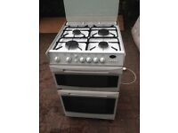 White gas cooker 60cm...free delivery