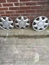 Wheel trims 14 inc .( 3 )