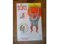 Bright stars baby door bouncer/jumper RRP £19.99