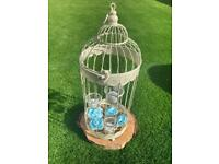 Birdcages x10 ~ £150 (ONO) ~ Wedding table decoration or other event