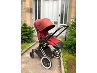 Cybex Priam pram pushchair buggy with carrycot