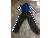 Addidas track suit aged 4-5 years