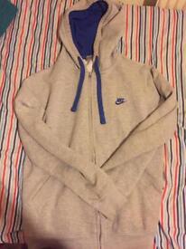 Nike fleece hoodie large
