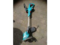 Bosch ART 26-18 cordless strimmer with battery recharger