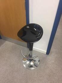 Black Bar Stools - 6 available - £20 each
