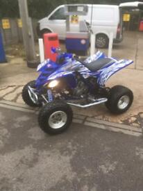 Yamaha raptor 660 yfm road legal