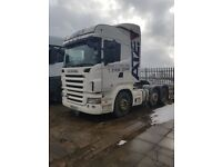 2006-56 plate scania r 480 topline 6x2 midlift 3 pedal opticruise ex our own ...