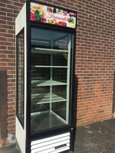 True G4SM   28 inch Self Service Bakery Refrigerated Case with Straight Glass