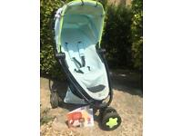 Quinny zapp xtra 2 pushchair pram Miami color
