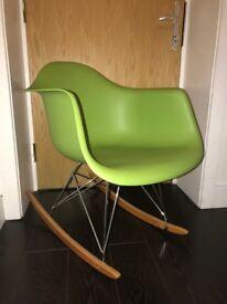 Rocking chair imitation Eames