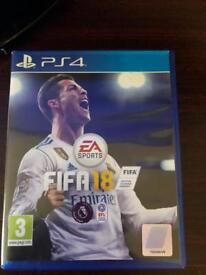 PS4 games fifa 18