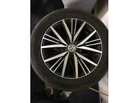 16 inch vw golf mk 7.5 wheels 5x112 fitment