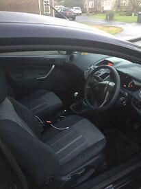 Ford Fiesta Edge 1388cc Black 3 Door