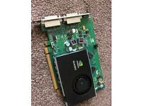 NVIDIA QUADRO FX380 dual DVI 265