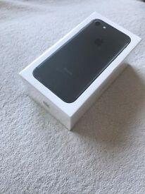 New Sealed Apple iPhone 7 - Black - 32GB - O2 Network