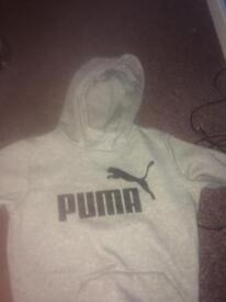 Grey puma jumper