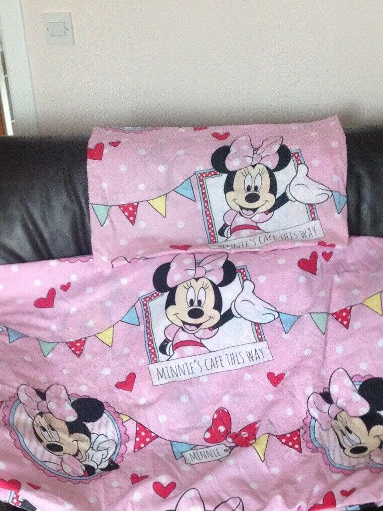 Minnie Mouse bedding + curtains | in Buckhaven, Fife | Gumtree