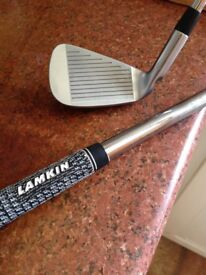 PING S57 R/Hand IRON SET 3-PW SUPERB PROJECT X 5.0 FLIGHTED SHAFTS