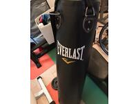Everlast punch bag 4ft