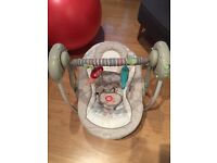 Bright Starts Cosy Kingdom baby swing