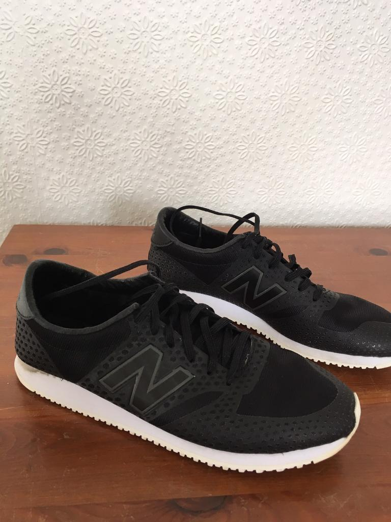 20455204c218 New Balance 420 Mesh Trainers (Black
