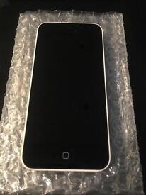 iPhone 5c white (unlocked)