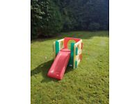 Little Tykes activity cube with slide