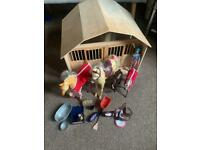 Breyer Stable and horse bundle
