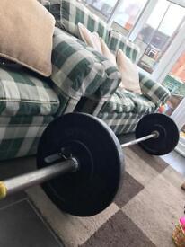 Jordan Olympic weight bar
