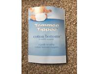 Cotton reusable nappies