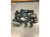 Makita Power Tools Kit