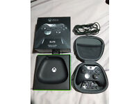 Xbox One Elite Wireless Controller boxed in perfect condition