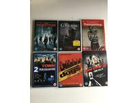 6 DVD's for £10