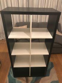 Ikea Kallax Shelves - Black + White - Fantastic Condition