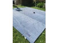OUTWELL tent carpet 400cm x 400 cm