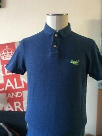 SuperDry Polo XL Blue