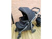 Graco sky pushchair and car seat travel system