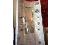 Aqualux steam shower cabinat