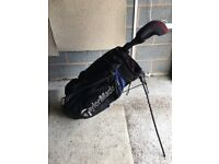 Taylor Made Golf Stand Bag and Driver