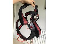 Medium Wildcountry Vision Climbing Harness Unisex with belay plate and carabiner