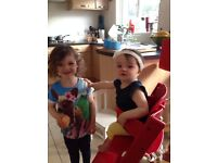 Childminder needed for two girls