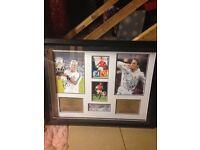 SIGNED SPORTS MEMORABILLIA - Personally signed photos of RAUL AND DAVID BECKHAM!!