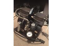 """Jun-air """" ratboy"""" airbrush-neuma portable silent compressor"""